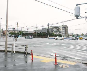 事故件数の多い原宿交差点付近