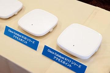 最大4.8GbpsのWi-Fi 6に対応する「Catalyst 9100」シリーズ