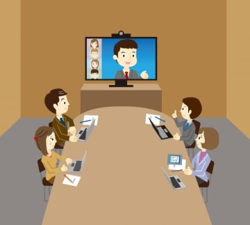 昨今のITトレンド 次世代のTV会議であるWEB会議システム