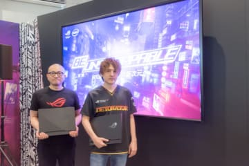 「DeToNator」代表・江尻勝氏とStreamer・YamatoN氏がASUS JAPANの新製品発表会でゲーミングPCとe-Sportsの今を語る