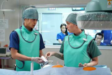 連続ドラマ「ラジエーションハウス~放射線科の診断レポート~」第11話のシーンカット=フジテレビ提供