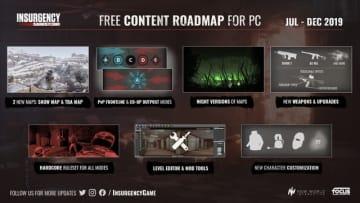 リアル現代FPS『Insurgency: Sandstorm』開発ロードマップが公開―Modサポート、2つの新マップも