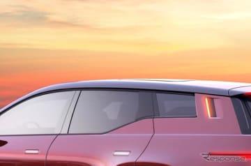 フィスカーの新型EVのティザーイメージ