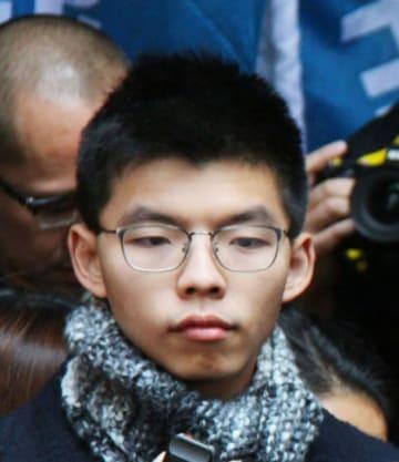 香港「雨傘運動」主導者が出所 刑期満了で 画像