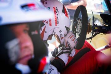 WRC第8戦イタリア:トヨタ、最終SSで勝利逃す。「スタートしてすぐ、ステアリングに違和感」とタナク 画像