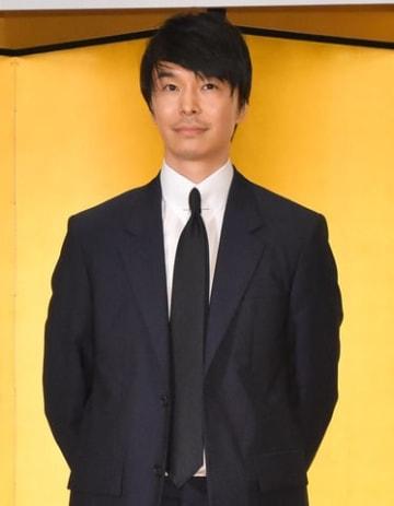 2020年にスタートするNHKの大河ドラマ「麒麟がくる」の出演者発表会見に出席した長谷川博己さん
