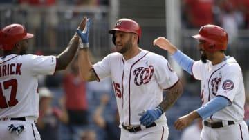 ナショナルズ大勝 アダムスが3ラン&満塁弾の大暴れ 画像