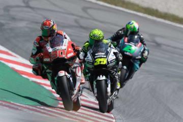 中上、MotoGPカタルーニャGPで16番グリッドから飛躍の8位。「タイヤマネジメントがうまくいった... 画像