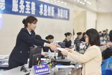 中国の増値税収入、5月は19・9%減 減税効果顕著に