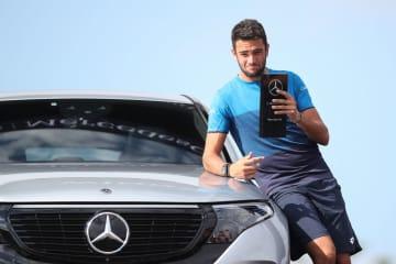 「ATP250 シュツットガルト」で優勝したベレッティーニ