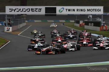 近年はF1ドライバーも輩出する国内トップのスーパーフォーミュラ
