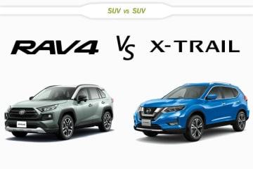 トヨタ 新型RAV4 vs 日産 エクストレイル