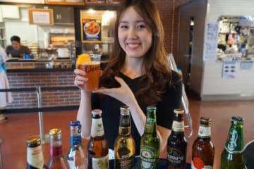 メットライフドームでは世界各国のビールも味わえる【写真:編集部】