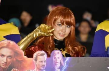 映画「X-MEN:ダーク・フェニックス」のイベントに出席したえなこさん