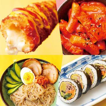 「チーズホットドッグ」など定番の韓国料理が大宮市場で楽しめる(写真はイメージ)
