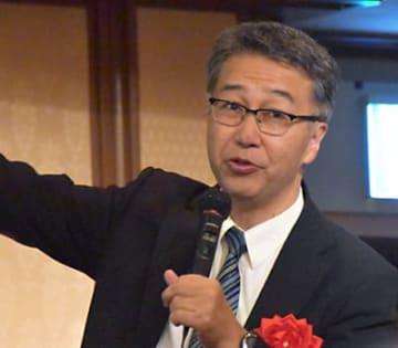 東京大学の中須賀真一教授
