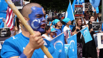 Uyghur protest in Washington DC, USA. Photo: Wikicommons