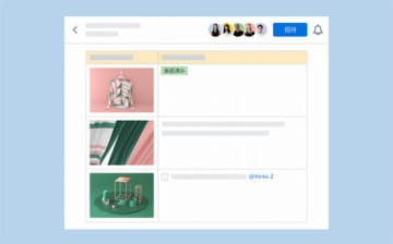 「Dropbox Paper」に追加された新機能の利用イメージ