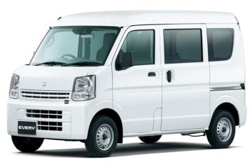 スズキ「エブリイ」「エブリイワゴン」の安全装備を充実 エブリイ PC スズキ セーフティ サポート装着車 スぺリアホワイト