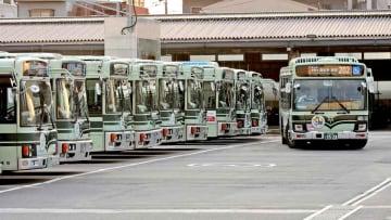 【資料写真】京都市バス(南区・九条営業所)