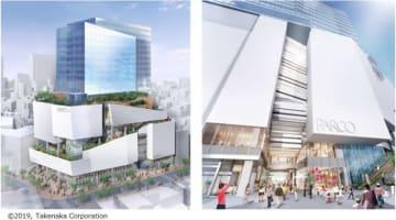 渋谷パルコのイメージ(竹中工務店提供、パルコ発表資料より)