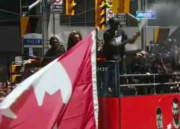 Raptors parade 2019 interrupted by gunshots
