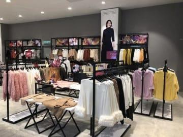 ジョホールバルに開業した「ジャパン・ファッション・スタジオ・バイ・カラーズ」2号店(ショーイチ提供)
