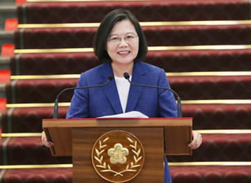 Taiwan President Tsai Ing-wen wins the vote to lead her ruling Democratic Progressive Party (DPP) again in the presidential election in 2020. (Central News Agency)
