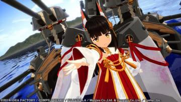 """PS4『アズレン クロスウェーブ』戦艦「長門」がプレイアブルキャラで参戦決定!ストーリー序文も""""ボイス付き""""で公開"""