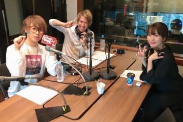 左から時計回りに☆イニ☆さん、テオくん、坂本美雨