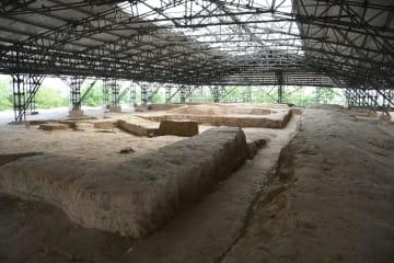 中国最古の宮殿跡、4500年前の芦山峁遺跡を訪ねて 陝西省延安市