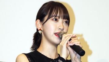 初主演映画「ホットギミック ガールミーツボーイ」のイベントに登場した「乃木坂46」の堀未央奈さん
