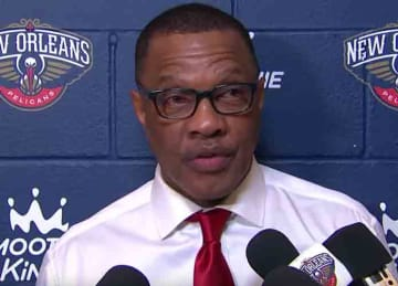 Pelicans head coach Alvin Gentry