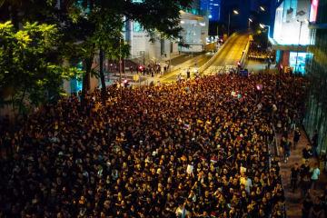 Anti-extradition rally on Sunday, June 16. Photo: inmediahk.net.