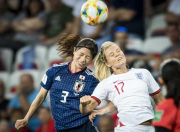 日本、イングランドに敗れる サッカー女子W杯1次リーグ