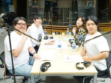 (左奥から時計回りに)博多大吉、アシスタントの古賀涼子、マヂカルラブリーの村上さん・野田クリスタルさん