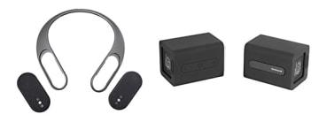Bluetoothスピーカーが2個セットになった新スタイル