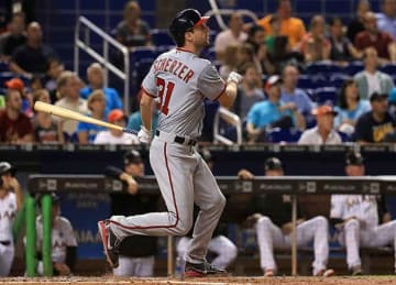 Nationals' Max Scherzer hits first career homer vs. Marlins
