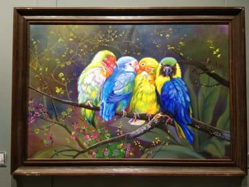 朝鮮絵画の展覧会、ハルビンで開催 100点超を展示