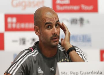 Pep Guardiola Named New Man City Manager