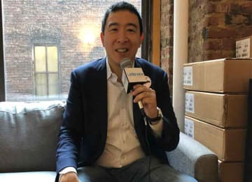 VIDEO EXCLUSIVE: 2020 Democratic Presidential Candidate Andrew Yang Explains Universal Basic Income (Photo: Erik Meers/uPolitics.com
