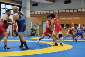 5階級で世界選手権へ向けた強化がスタートした男子グレコローマンの全日本合宿