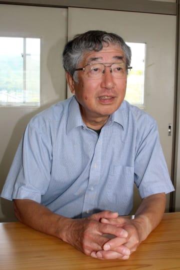 「情報公開は行政の通常業務」と強調する井上氏