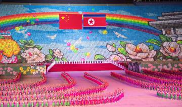 朝鮮、マスゲームと芸術公演を開催