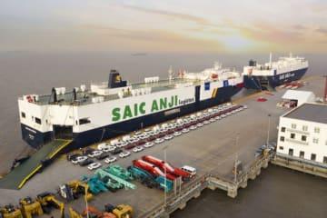 中国自動車メーカー、海外進出を加速 運搬船南米航路就航