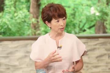 6月22日に放送されるトーク番組「サワコの朝」に出演する阿川佐和子さん=MBS提供