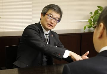 名古屋グランパスエイト・小西工己代表取締役社長