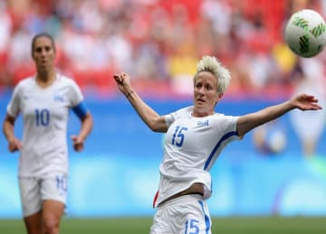 Megan Rapinoe Kneels For National Anthem Before USWNT's 9-0 Win vs Thailand