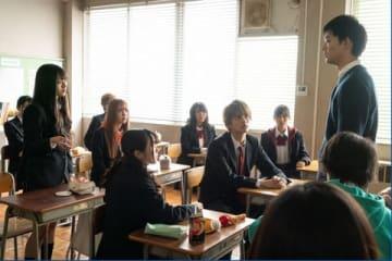 連続ドラマ「都立水商!~令和~」の第8話場面写真 (C)「都立水商!~令和~」製作委員会・MBS