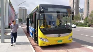 5G体験バスを無料で試乗 貴州省貴陽市